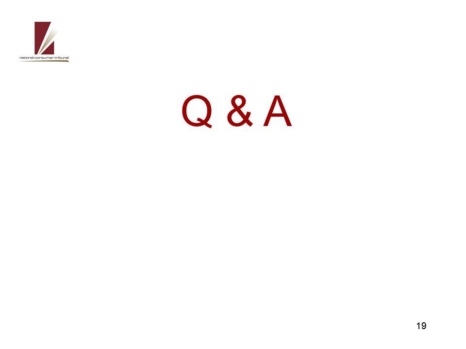19 Q & A 19
