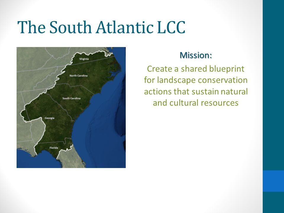The South Atlantic LCC What is the Blueprint.