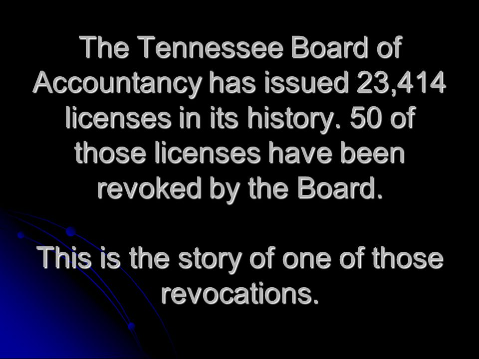 Quiz Question After a Formal Hearing, the Board may revoke, suspend, reprimand, censure or limit the scope of practice of a licensee for which of the following reasons: a.Fraud in obtaining a license b.Disciplinary action taken by another state c.Revocation of the right to practice before any state or federal agency d.Dishonesty, fraud or gross negligence in the performance of services e.Violation of the rules of professional conduct f.All of the above
