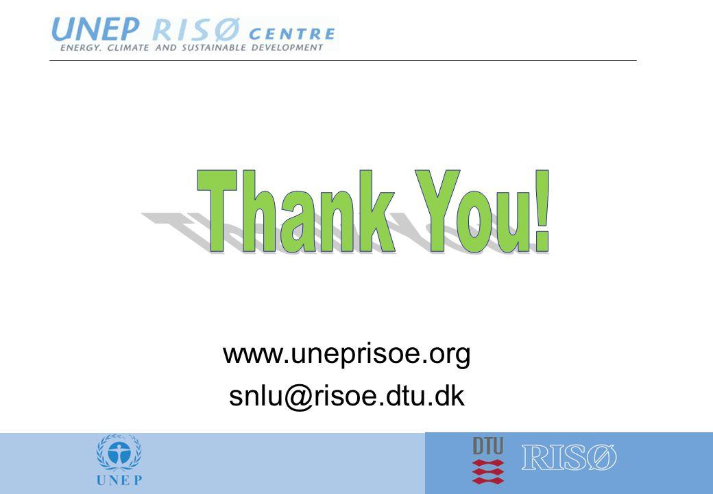 www.uneprisoe.org snlu@risoe.dtu.dk