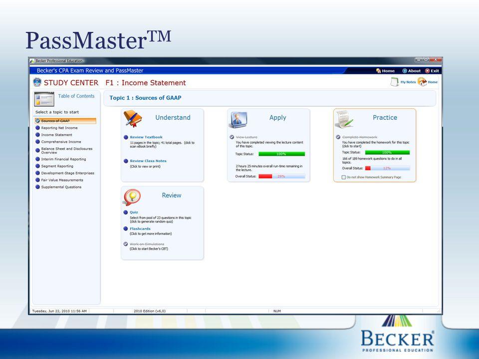 PassMaster TM
