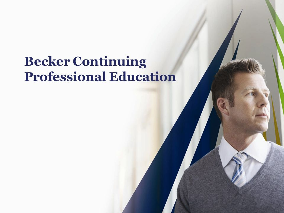Becker Continuing Professional Education