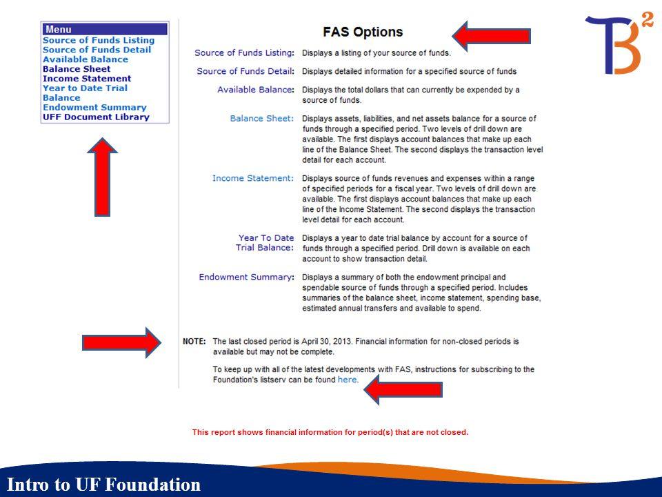 Intro to UF Foundation