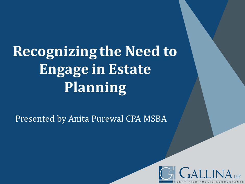 Who Needs Estate Planning.