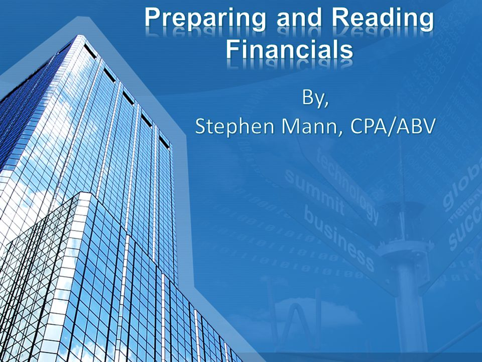 The notes provide a narrative explanation of the significant accounting policies used by the company and more detail about certain items Accounts Receivables, Fixed Assets, Long Term Debt, concentrations, subsequent events.