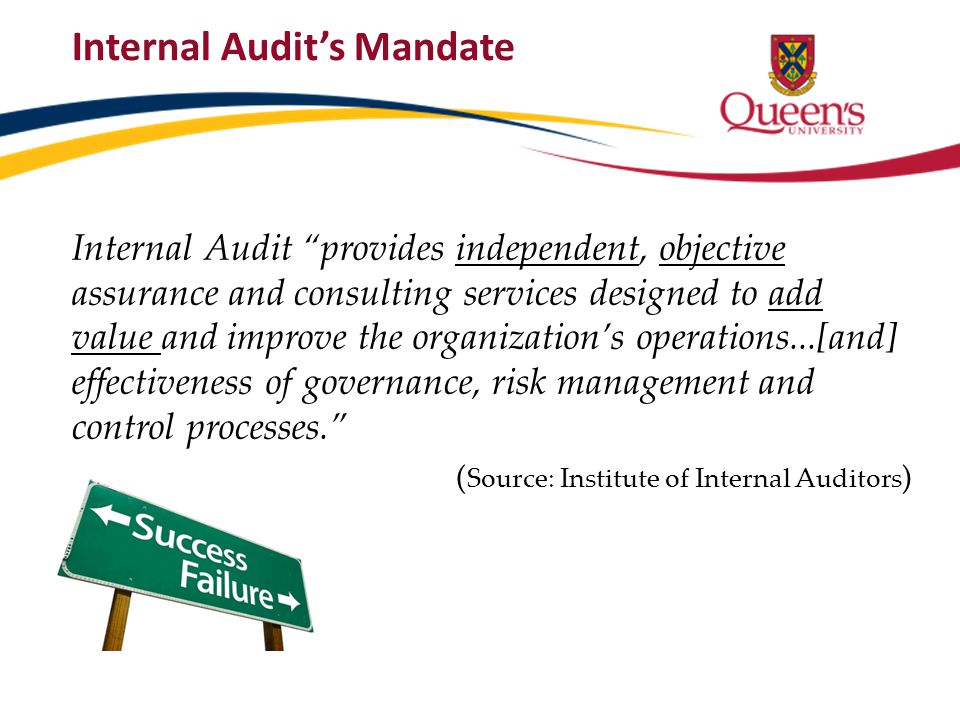 Internal control is a process; it is a means to an end, not an end itself.