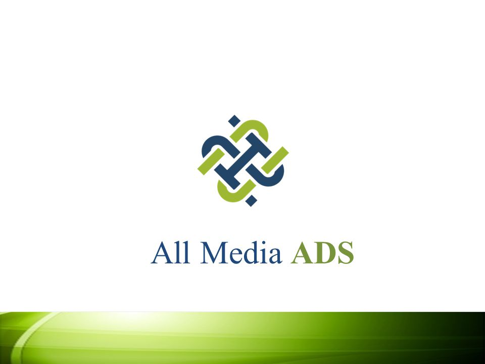 About All Media ADS All Media ADS offers Internet advertising that provides innovative advertising and publishing solutions that speak directly to your customer's.