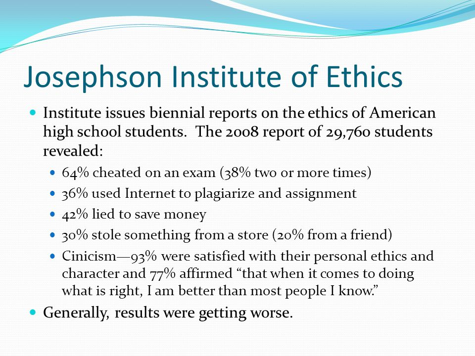 Approaches to Teaching Ethics Small church-affiliated business schools have focused on ethics from a human perspective.