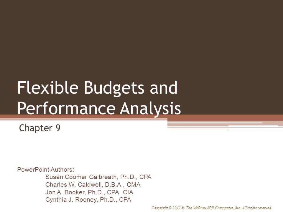 PowerPoint Authors: Susan Coomer Galbreath, Ph.D., CPA Charles W. Caldwell, D.B.A., CMA Jon A. Booker, Ph.D., CPA, CIA Cynthia J. Rooney, Ph.D., CPA C