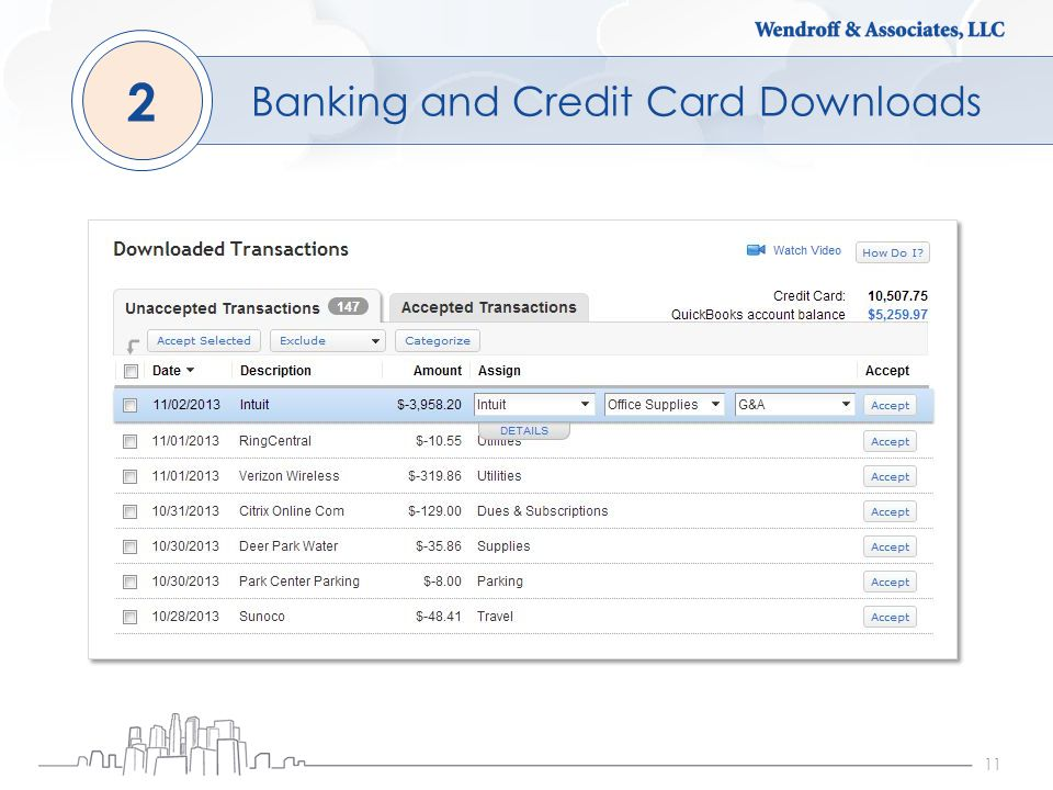 11 Banking and Credit Card Downloads 2