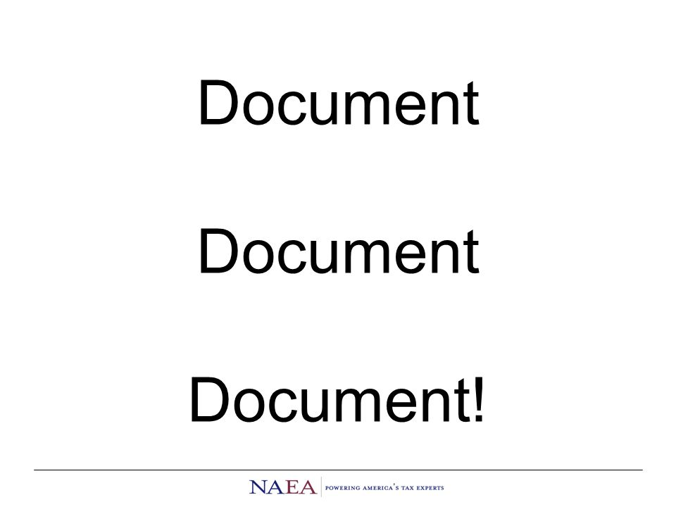 Document Document Document!