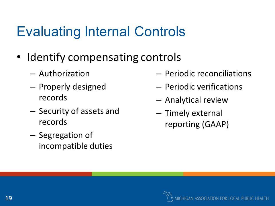 Establishing an Internal Audit Function GFOA Best Practices: – Establishment of an Internal Audit Function – Enhancing Management Involvement with Internal Control – Audit Committees http://www.gfoa.org/best-practices 20