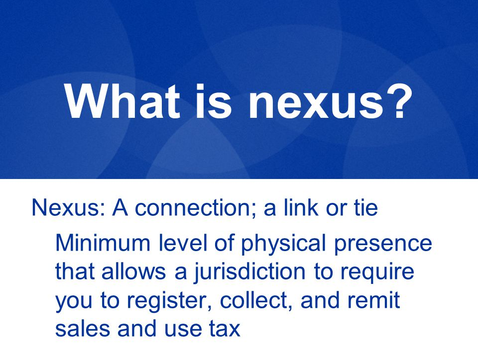 What is nexus.