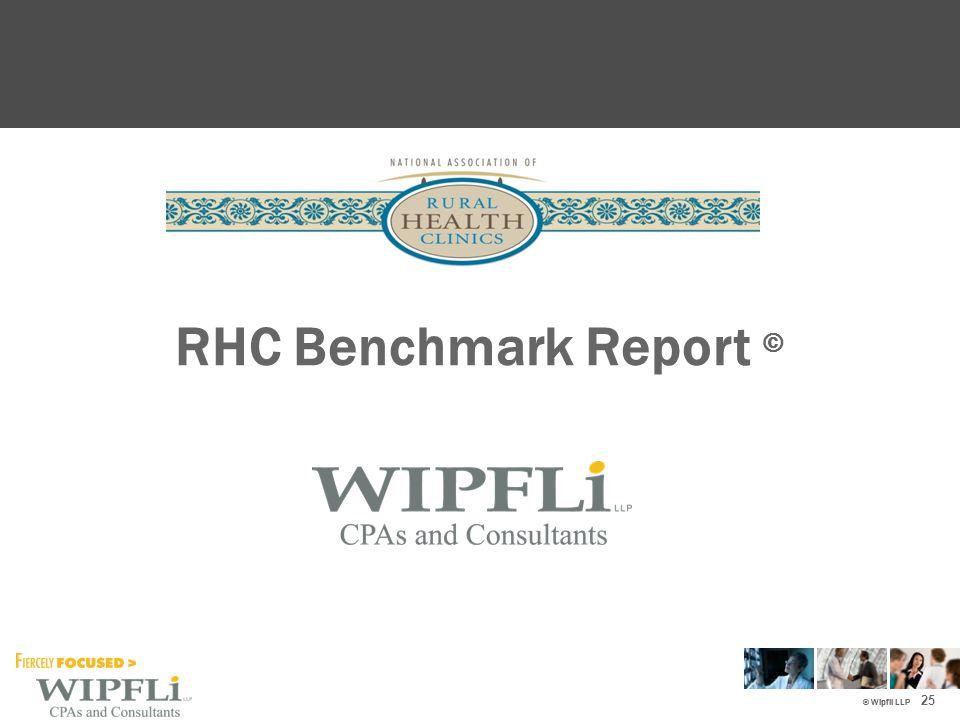 © Wipfli LLP RHC Benchmark Report © 25