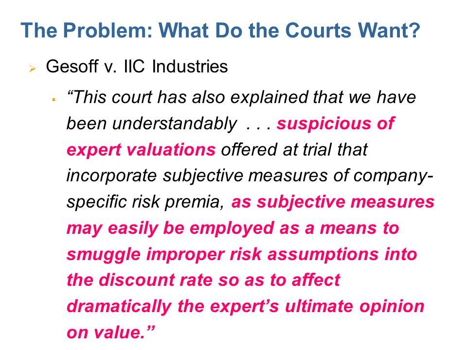 The Courts Want Empirical Data. Delaware Open MRI Radiology Associates v.
