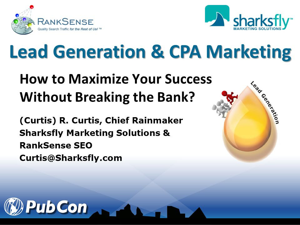 Hosting Lead Generation & CPA Marketing Costs Are One of the Highest on the Internet!! So how does anyone make money????