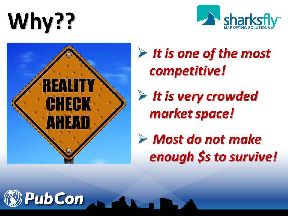 SO Why Do Most Fail. Run banners/directory ads & wait.