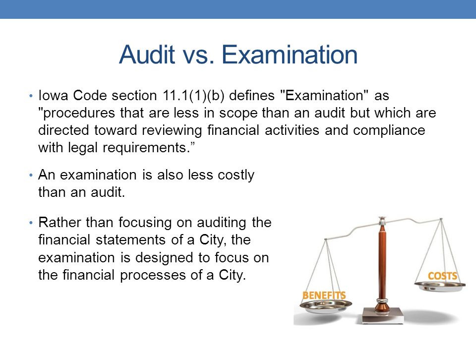 Audit vs.
