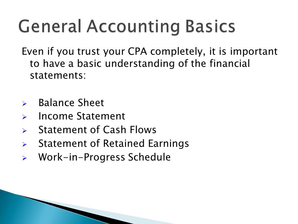 Taking the following steps should enable you to start saving money on your CPA bill!
