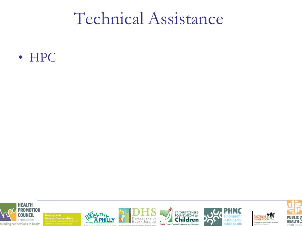 Technical Assistance HPC
