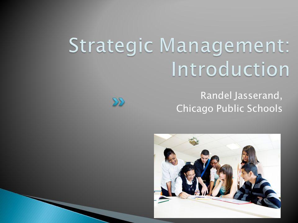 Randel Jasserand, Chicago Public Schools 40