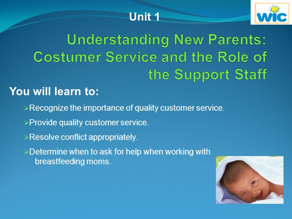 Feedback Question 2 Correct.Every colleague can promote breastfeeding.