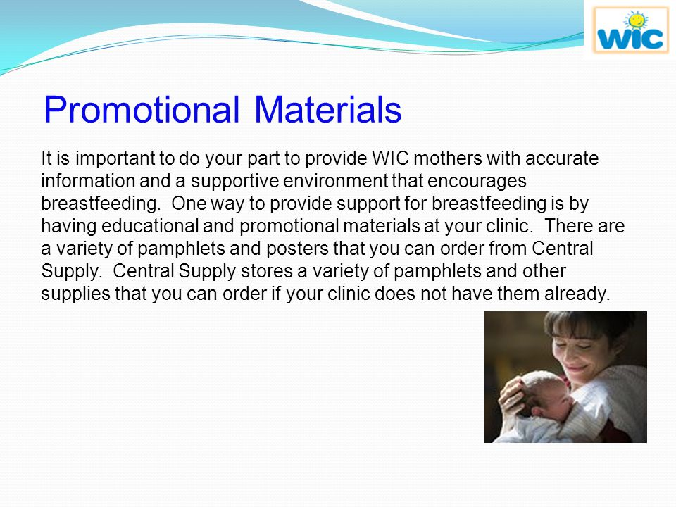 Your Role in Breastfeeding Promotion Though many mothers know the benefits of breastfeeding, a significant number still choose to formula feed their b