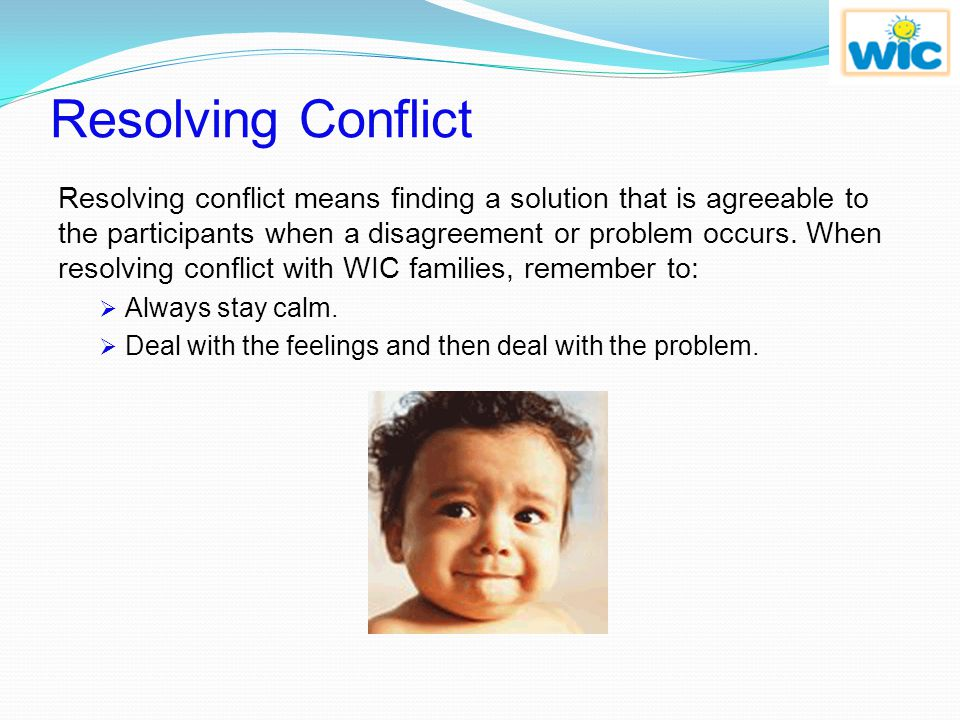Review Question 3 The six steps to resolving conflict are: stay calm, deal with the person's feelings first, ask questions, give feedback, summarize the problem, and ________.