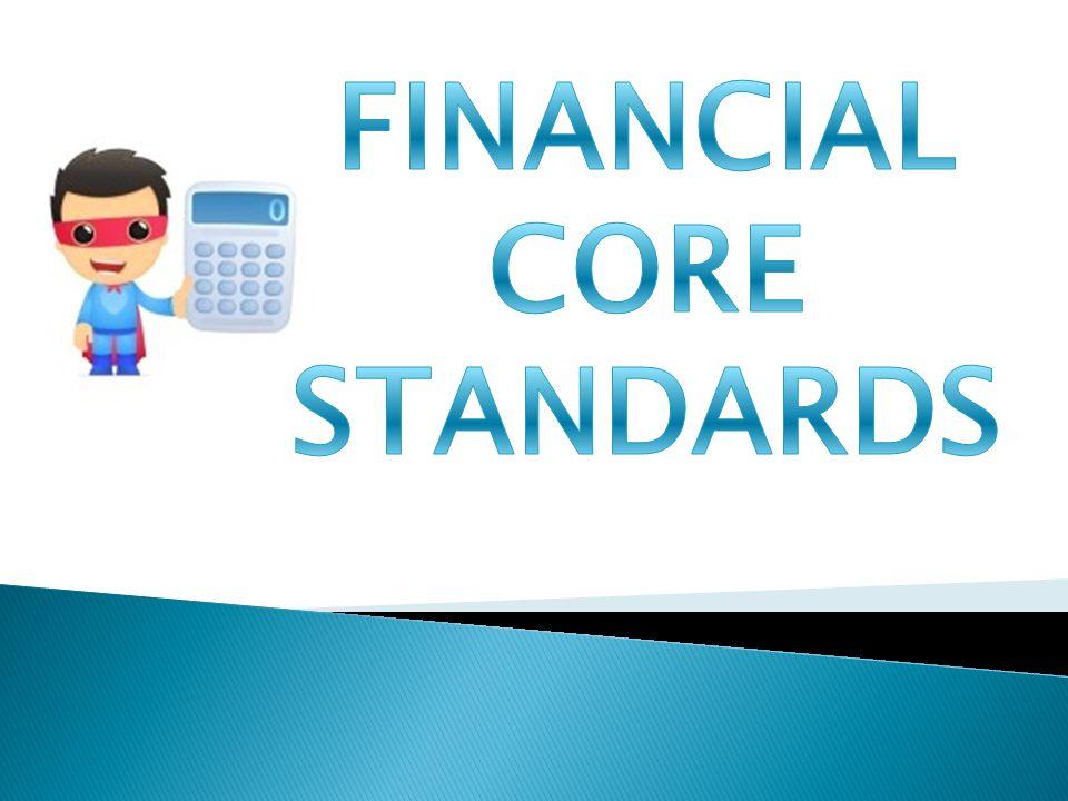 Financial Solvency Core Standards E-Commerce