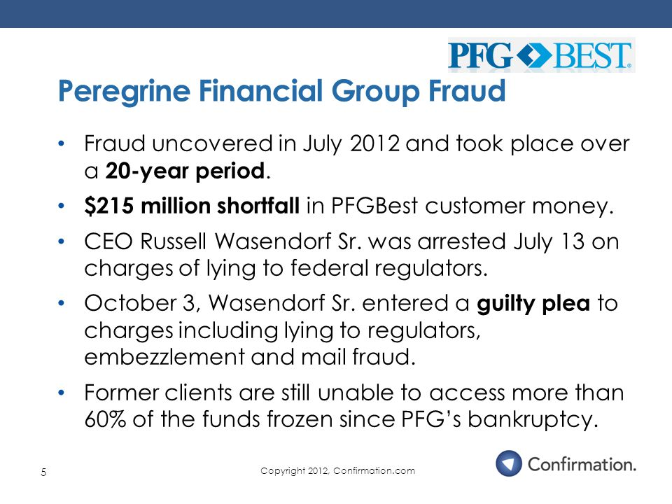 Fraud uncovered in July 2012 and took place over a 20-year period.