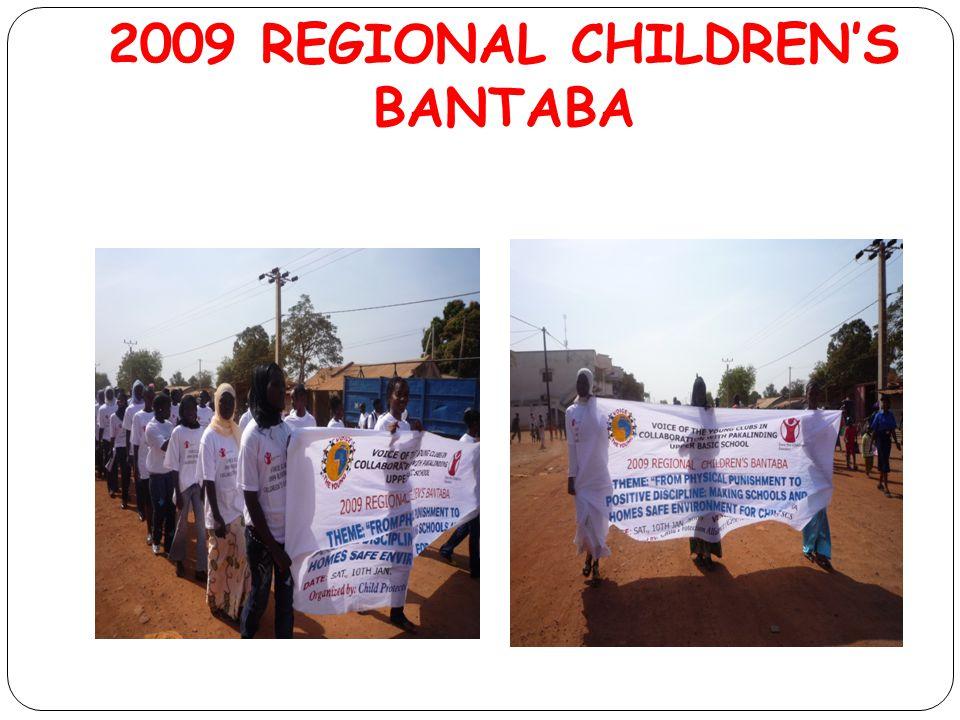 2009 REGIONAL CHILDREN'S BANTABA