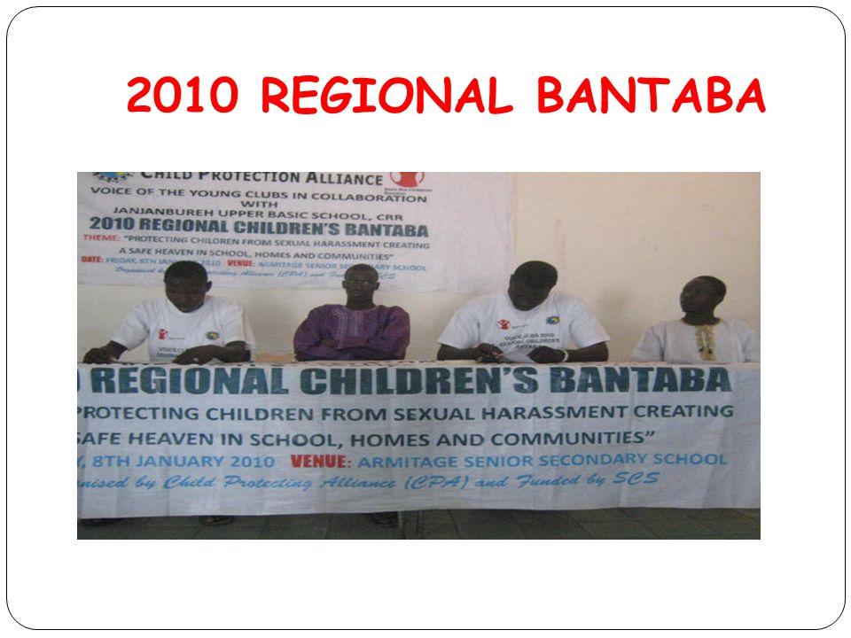 2010 REGIONAL BANTABA