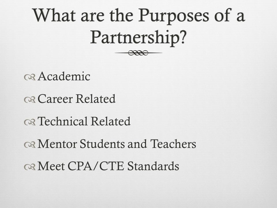 What are the benefits for partner individuals, organizations, or institutions.
