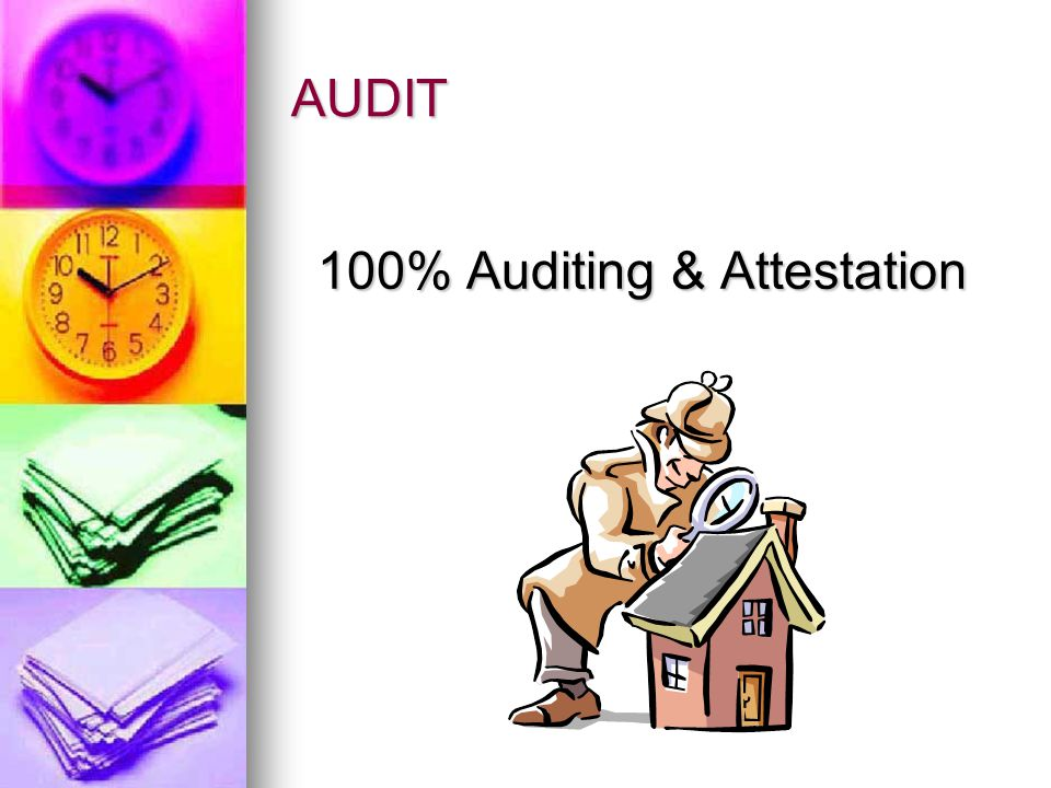 4 PARTS of the CPA EXAM Auditing Auditing Financial Accounting and Reporting Financial Accounting and Reporting Regulation Regulation Business Environ