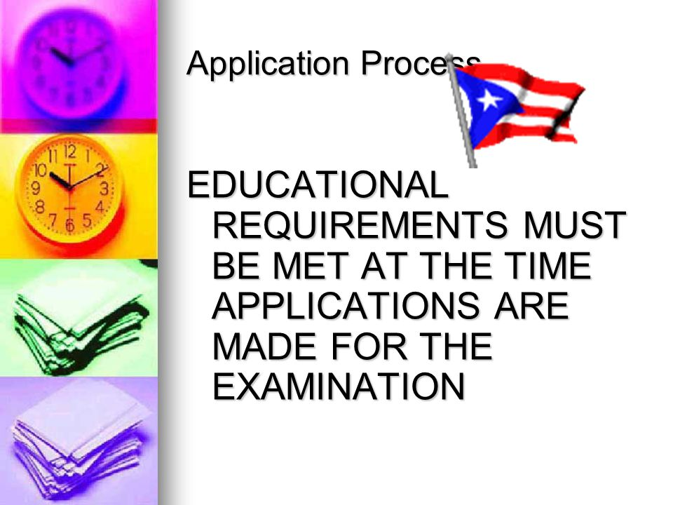 Application Process Key is applying early!!! Key is applying early!!! Candidates apply to CPA Examination Services. Candidates apply to CPA Examinatio