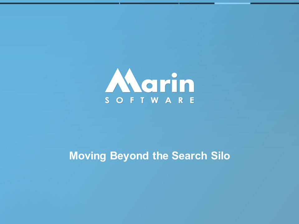 Moving Beyond the Search Silo
