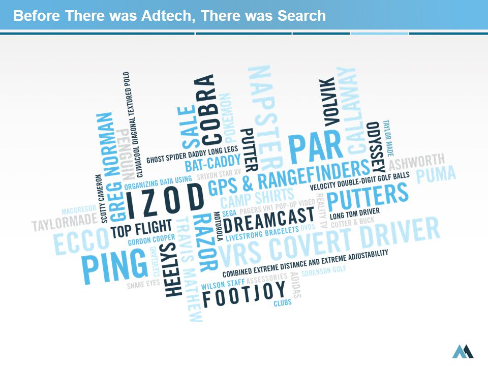 Before There was Adtech, There was Search