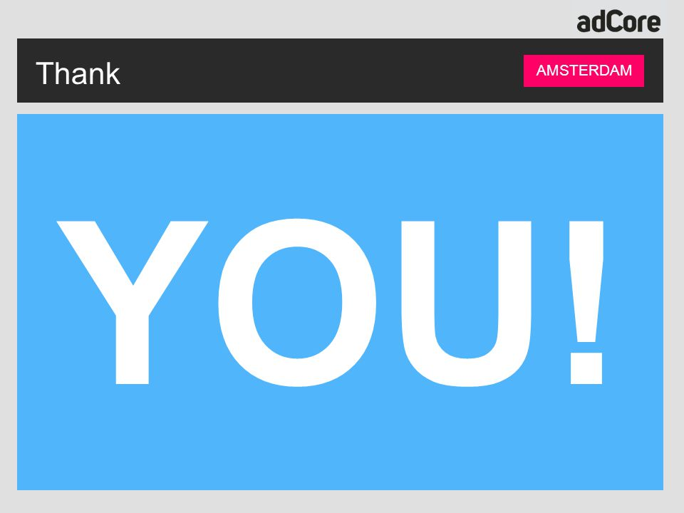 YOU! Thank