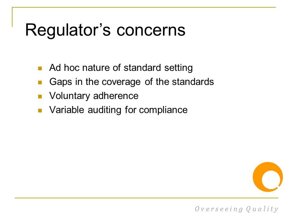 Standards framework.