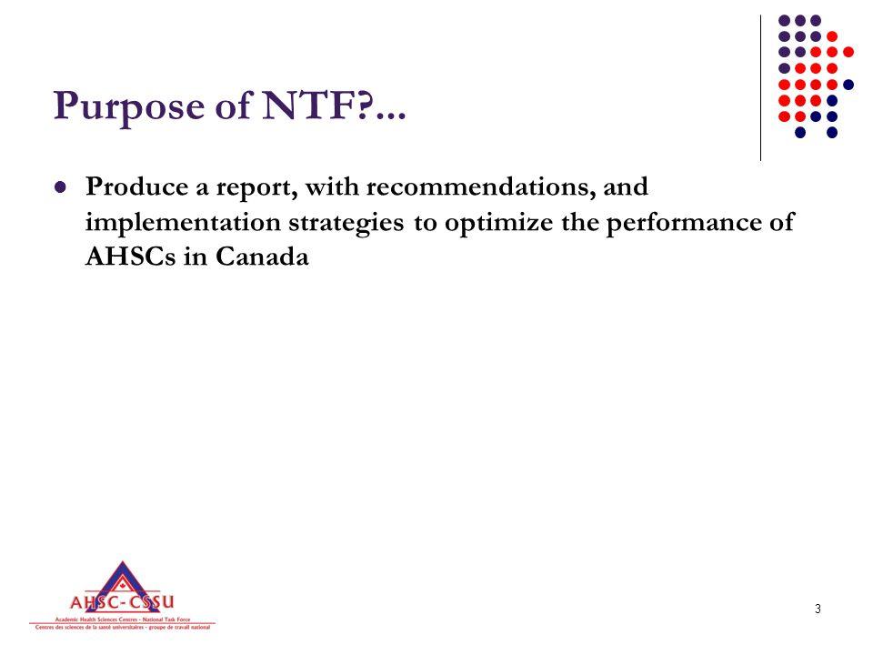 3 Purpose of NTF ...