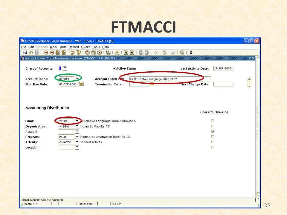 FTMACCI 35
