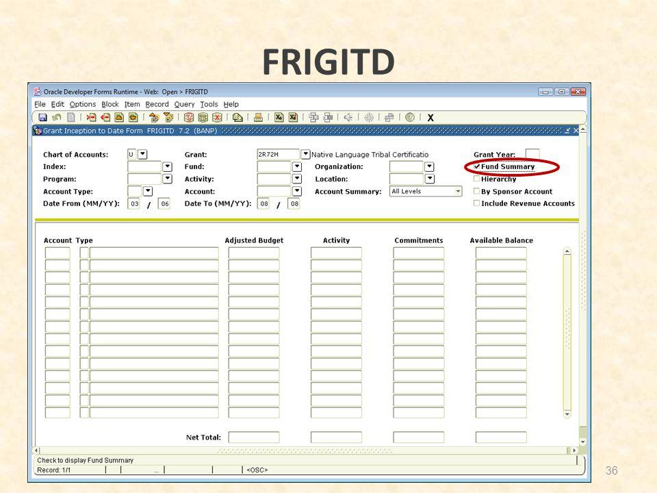 FRIGITD 36