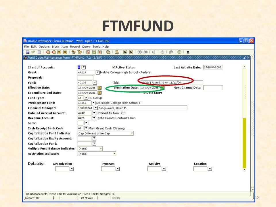 FTMFUND 43