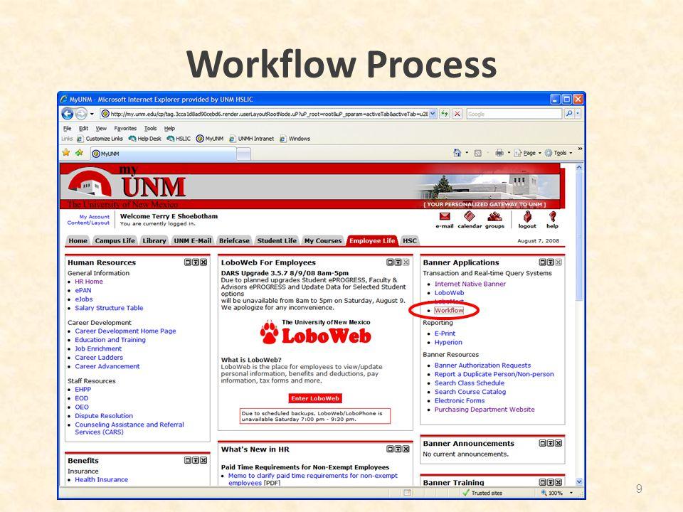 Workflow Process 9