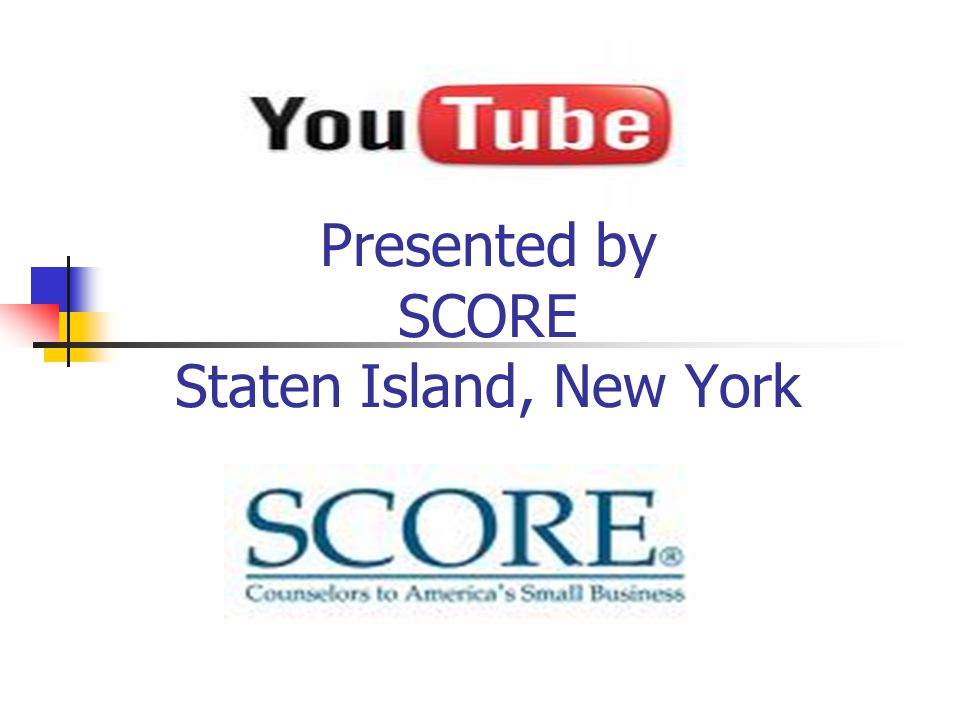 Presented by SCORE Staten Island, New York