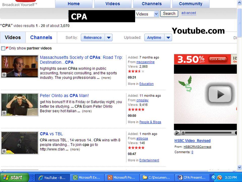 Youtube.com CPA