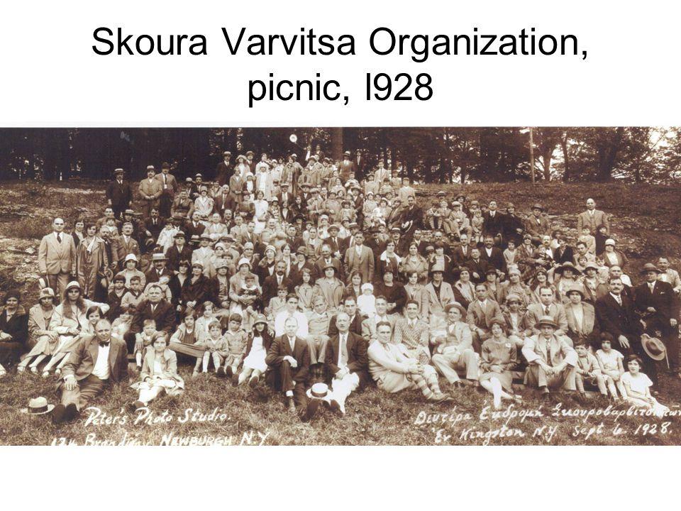Skoura Varvitsa Organization, picnic, l928