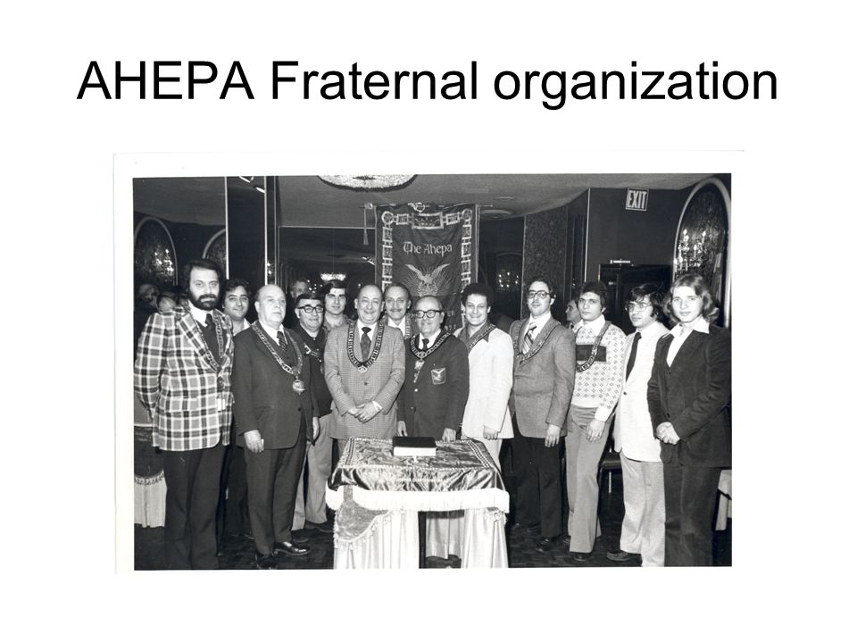 AHEPA Fraternal organization