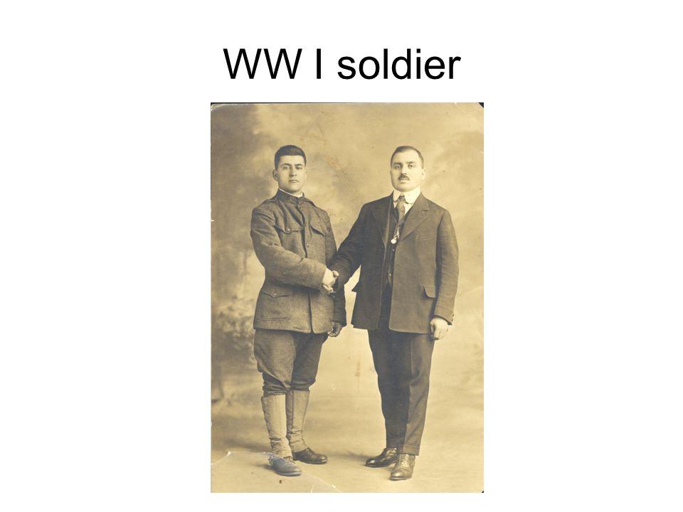 WW I soldier