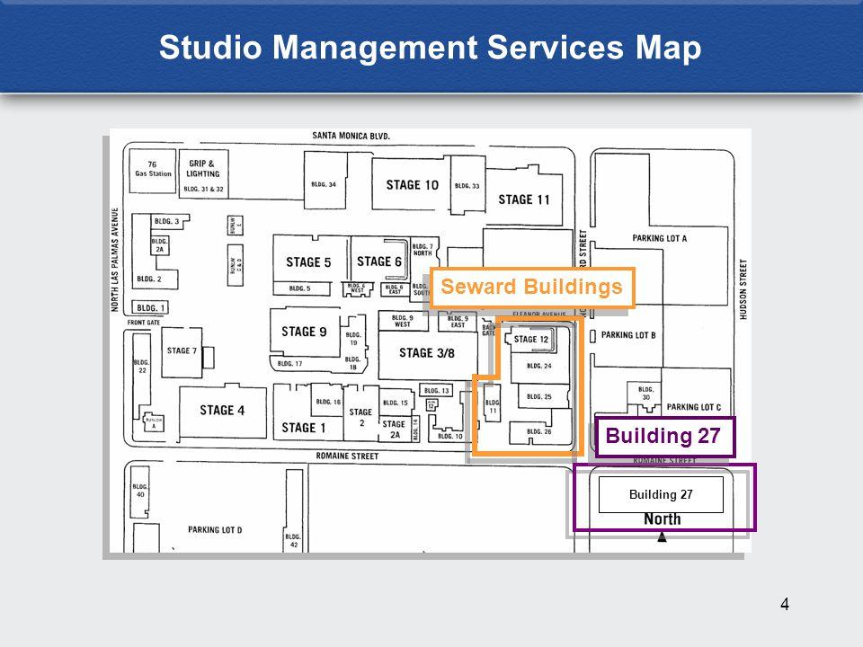 4 Studio Management Services Map Building 27 Seward Buildings Building 27